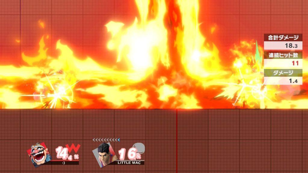 スマブラsp トレモで十文字爆弾ずらす練習してる画像