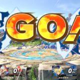 スマブラspで試合開始直後のGO!の文字がほとばしっている画像