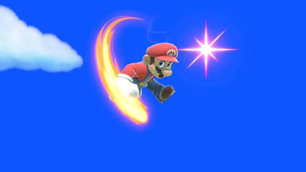 スマブラspでマリオが空前をしている画像